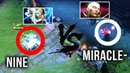 Miracle- Best Invoker vs German Superstar Nine Zeus - EPIC Mid Battle Dota 2 - Patch 7.20e