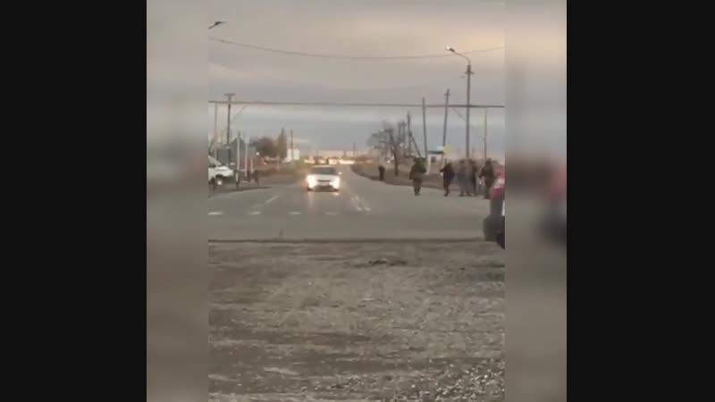 17.11.2018.в Грозном смертница с поясом шахида направлялась к блок-посту. Не дошла.