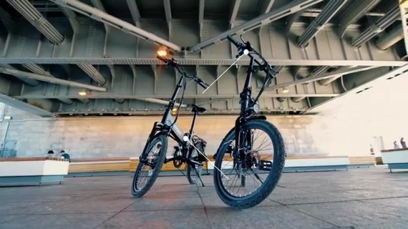 Электровелосипеды Hoverbot CB-7-8.mp4