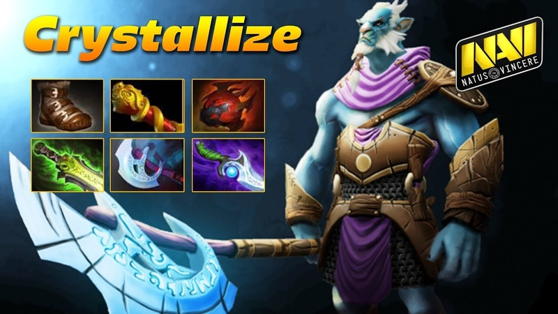 Crystallize Phantom Lancer NAVI HARD CARRY Dota 2 Pro Gameplay