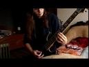 Meshuggah Abnegating Cecity guitar cover
