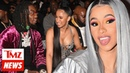 Cardi B Officially Back Together with Offset, He Vows No More Groupies TMZ NEWSROOM TODAY