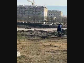 Строительство футбольного поля на ПРП⠀Источник @ minenkov_ma⠀#невинномысск #кочубеевское #пятигорск #кисловодск #черкесск #с