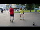Женя и Юра танцуют на квадах на ВДНХ
