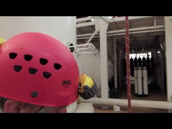 Тест альпинистского снаряжения Разрушение ПЗ STOP PETZL и Стопор десантер ВЕНТО