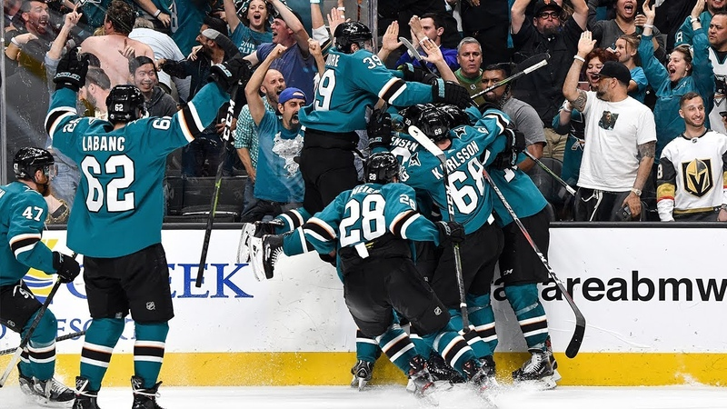 Sharks storm back with four goals on same power play win in OT to claim epic Game 7