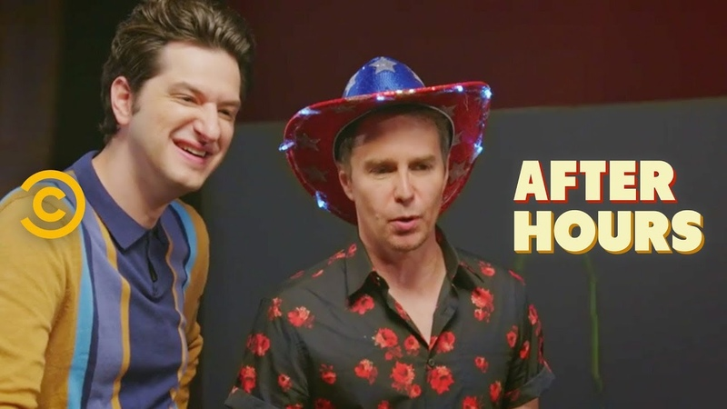 Sam Rockwell and Ben Schwartz Almost Kill Josh - After Hours with Josh Horowitz
