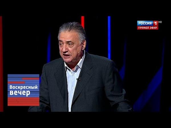 Багдасаров: пора закрыть Азовское море для всех кораблей Украины. Вечер с Соловьевым от 09.12.18