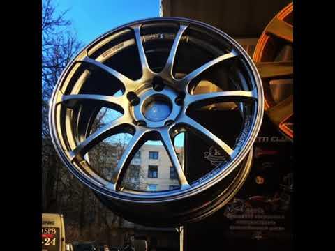 Покраска дисков в крутейший цвет ADVAN Racing