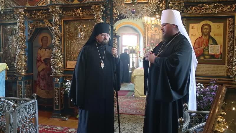 Слово митрополита Ферапонта в день памяти святителей Московских Ответное слово епископа Алексия