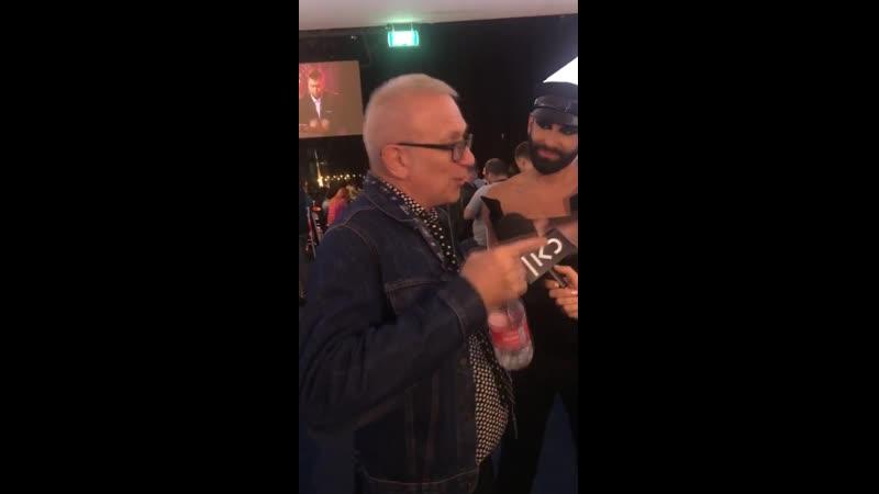 J-P Gaultier, Conchita, 16 май