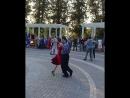 Руслан и Ирина - Энтрада - танго-вальс ФМоб 18.08.18