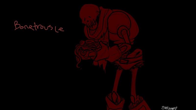 ʎɥ s Sinɓs◆Bonetrousle{Original Lyrics}【Horrortale】