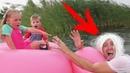 НЯНЯ не ЖДАЛА ГОСТЕЙ. Дети приехали на каникулы. Смешное Видео для детей