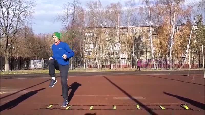 Тренировка 17.11.18 стадион Орион г.Железнодорожный.