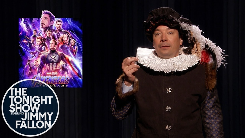 Jimmy Recaps Mueller, Avengers and More News as William Shakespeare