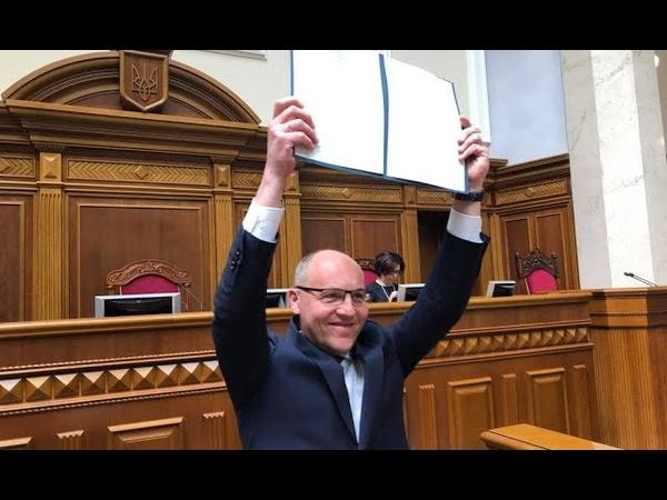 """Парубій """"пішов війною"""" на Зеленського """"позбавив"""" права ветувати закон назріває скандал"""