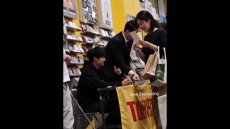 [2018.10.16] Kim Hyun Joong Waitfor me Fansign Event at Tower Records Nagoya PARCO store