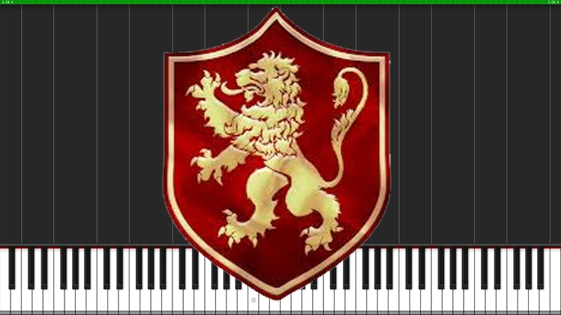 The Rains of Castamere - Game of Thrones [Piano Tutorial] (Synthesia) Logan Dougherty