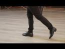 TANGO Толчок при шаге вперед. Уроки танго с Себастьяном Арсе Часть 1. Урок 3