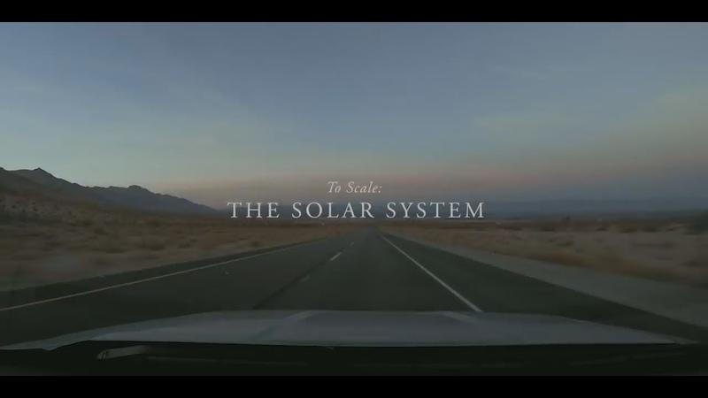 В масштабе: Солнечная Система | To Scale:The Solar System