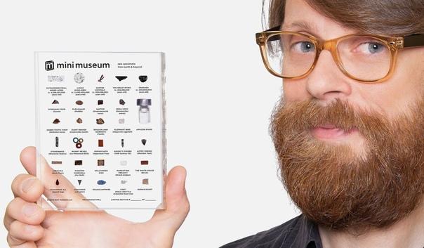 «Мини-музей» позволит каждому сохранить фрагменты мировой истории В 2014-ом Ганс Фекс с друзьями запустил стартап «Mini Museum», поставив целью собрать всего $38 тыс., а получил $1,8 млн.!