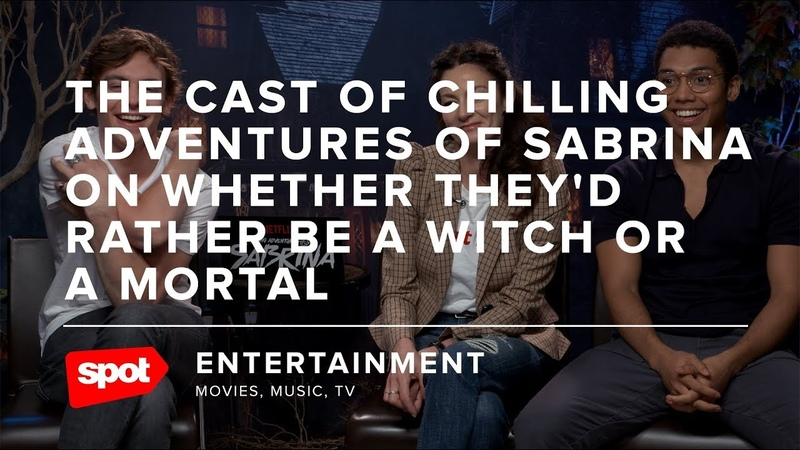 The Cast of Chilling Adventures of Sabrina on Whether They'd Rather Be a Witch or a Mortal