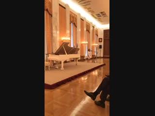 Концерт Олега Аккуратова в честь 120-летия Джорджа Гершвина в посольстве России в США