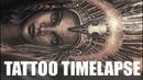 TATTOO TIMELAPSE NATIVE INDIAN HEADDRESS CHRISSY LEE