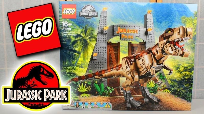 LEGO Jurassic Park Rampage 75936