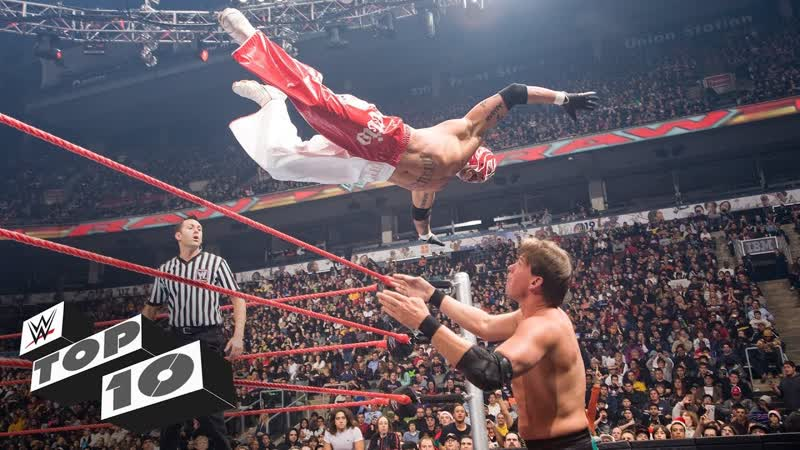 [WWE QTV]☆[Top 10]Rey Mysterios wildest high-flying moves]