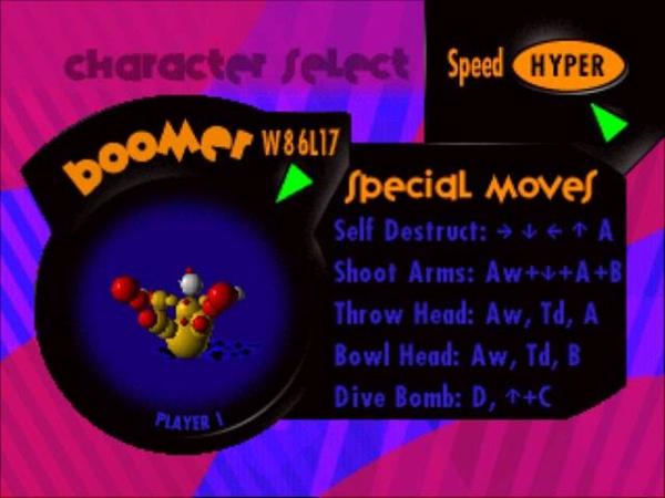 Ballz the director's cut 3DO OST - Boomer