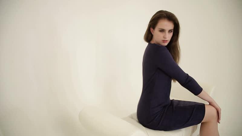 Коллекция Осень-Зима 2018 платье Вивьен