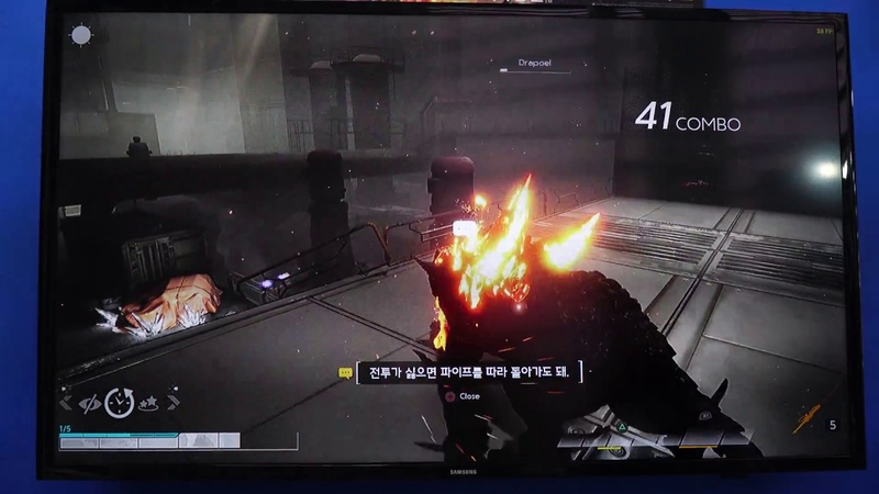 [콘솔러] 울트라 에이지 플레이 영상 ULTRA AGE DEMO PLAY Korea Developer Console Game for PS4