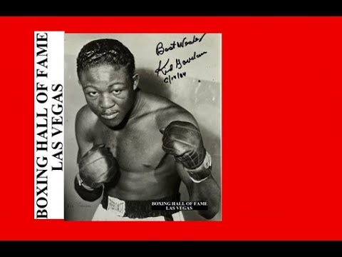 Kid Gavilan Fights Draw With Johnny Bratton November 28, 1951