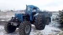 Колеса от комбайна на Т-40 убили двигатель