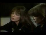Jane Birkin et Fran