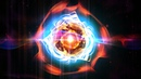 60FPS Plasma Twirl Space Flare Effect 1080p Animation Background Video