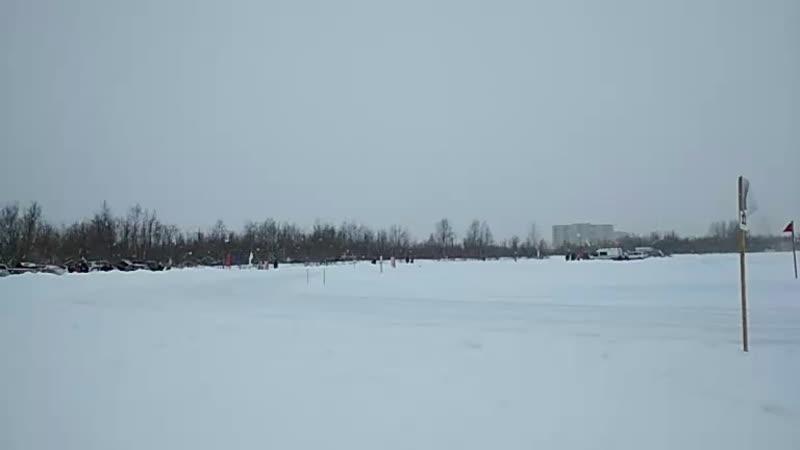 Соревнования по ледовым гонкам на легковых автомобилях на Кубок Северодвинска