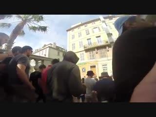 Русские фанаты во франции
