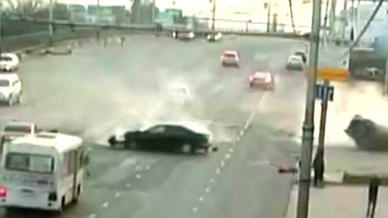 Ужасная авария в Краснодаре 17 11 13 на Северной