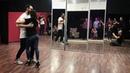 Ilya and Alexandra dancing kizomba in AF