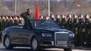 Парадный кабриолет представительского и высшего класса российского производства Aurus