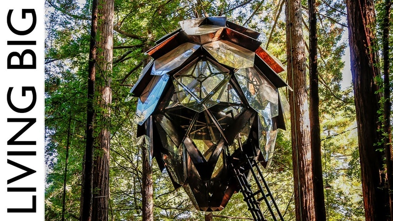 The Pinecone Treehouse: A Spectacular Tiny Home In The Trees || Living Big In A Tiny House