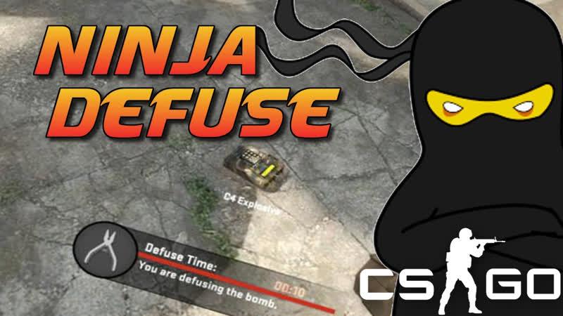 CS GO Ninja defuse