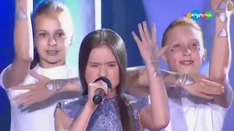 Центр танцевальной подготовки на Детском Евровидении с танцем Гравитация 2017 г.