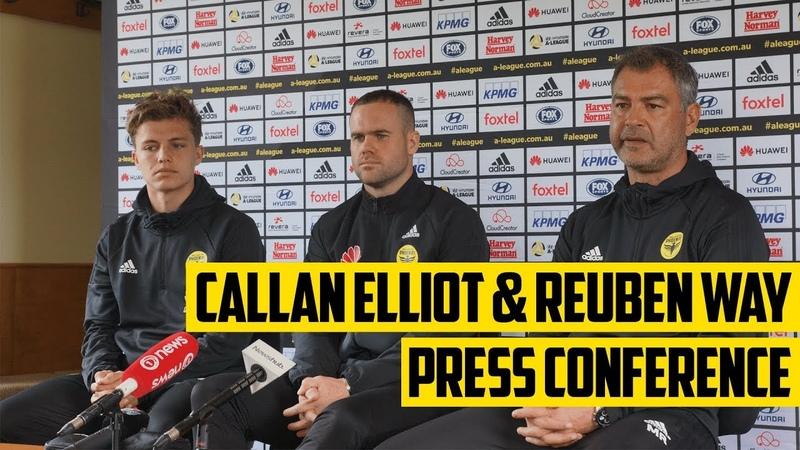 Callan Elliot and Reuben Way Press Conference