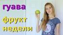 Фрукты Тайланда Гуава Guava фрукт недели