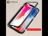 магнитный чехол с закаленное стекло для iPhone  OK Google Хочу-телефон