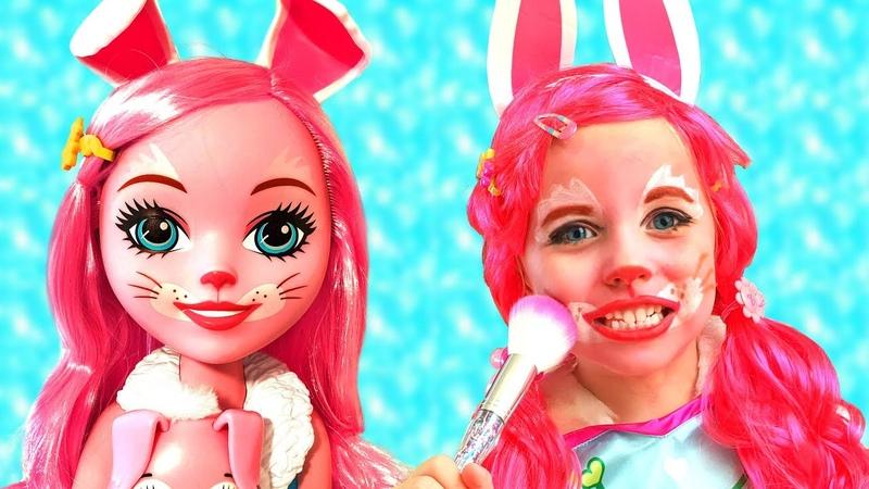 Алиса хочет быть Зайкой и игровой домик для детей